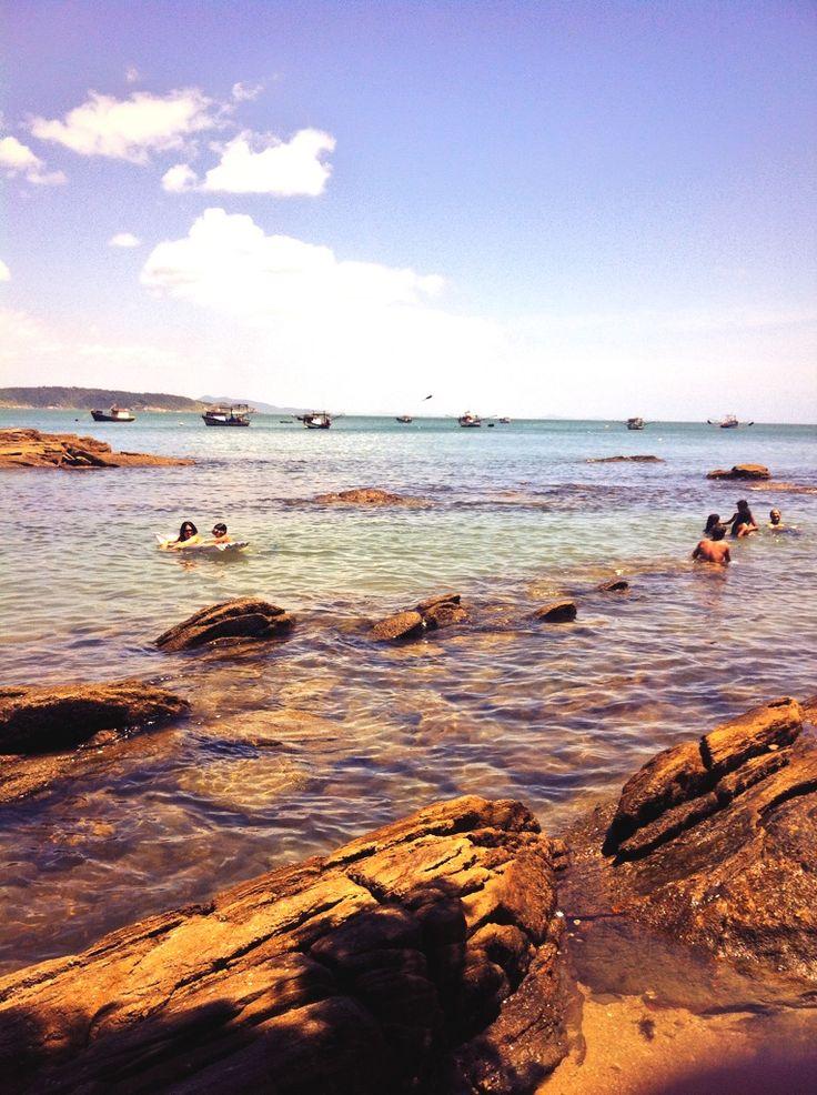 Praia da Sepultura Santa Catarina - Brasil