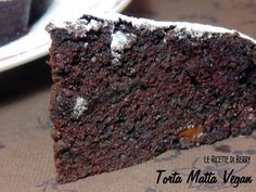 Torta Matta al cioccolato Vegan
