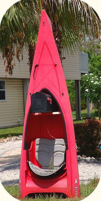 Kayak mailbox: