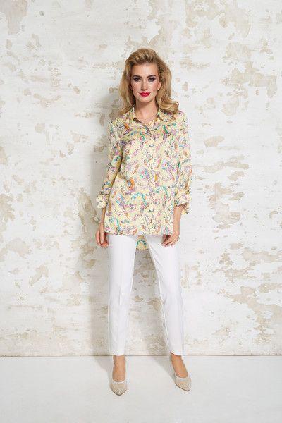 Koszulowa bluzka Ojra - LATTORE - Koszule damskie