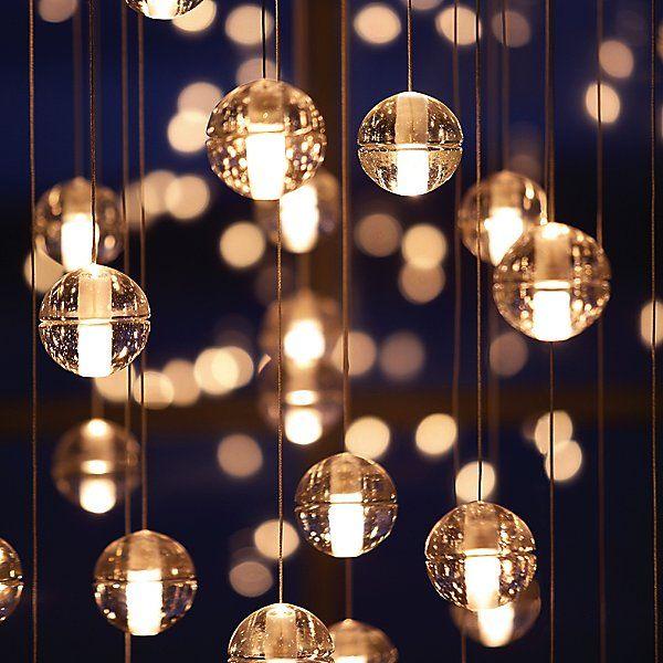 14.14 Multi-Light Pendant Light in 2020 | Ball pendant lighting, Glass ball  pendant, Ceiling pendant lights