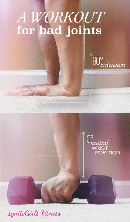 Try this low impact workout for bad joints! - IgniteGirls® Fitness