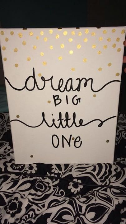 Kate spade big little sorority Greek canvas art