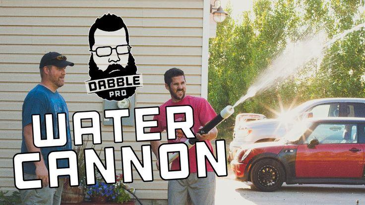 DIY Super Soaker / Water Cannon