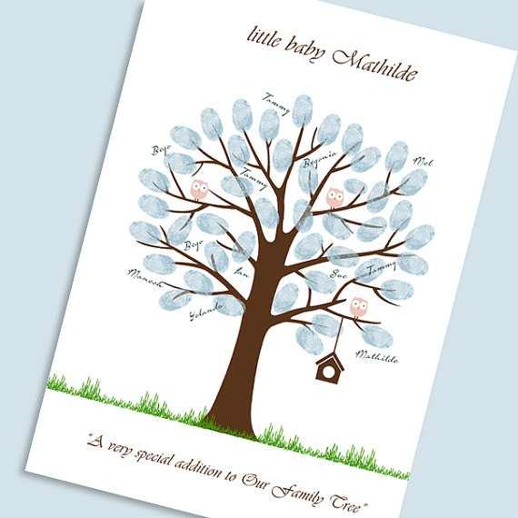 baby shower printable thumbprint tree guest book by byyolanda 14