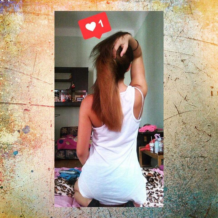 Ombre sytle hair
