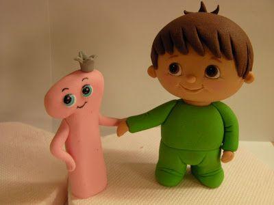 Figurice za torte (Fondant design Ana): BABY TV - FONDANT FIGURES