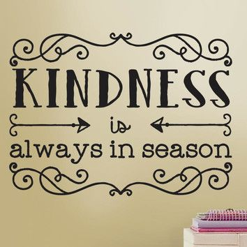 Room Mates Deco Kindness Quote Wall Decal & Reviews | Wayfair