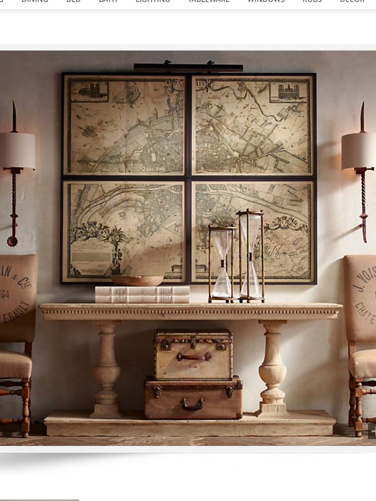 Foyer Table Restoration Hardware : Best missions display images on pinterest church