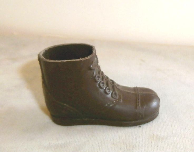 1960-70s #vintage Gi Joe Sotw Short Brown Boot Right Foot No Holes Or Splits from $4.99