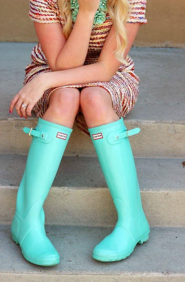 e32b19fbe0b 30+ Hunter Rain Boots Outfits You Want To Copy | # Summer Fashion ...