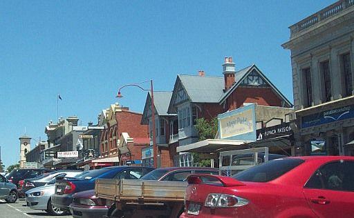 Main St of Daylesford, Victoria