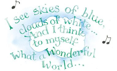 blue skiesSky Quotes, Susanbranch, Lyrics Quotes, Life, Blue Sky, Branches Art, Wonder World, Susan Branches, Inspiration Quotes