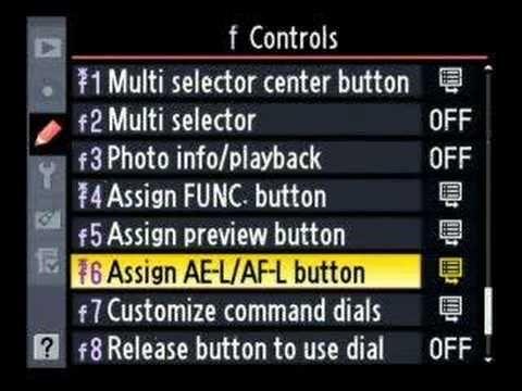 Nikon D300 Advanced menu walk through 3 of 6, tips, tricks
