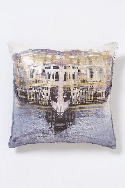 Serenissima Square Pillow #anthropologie