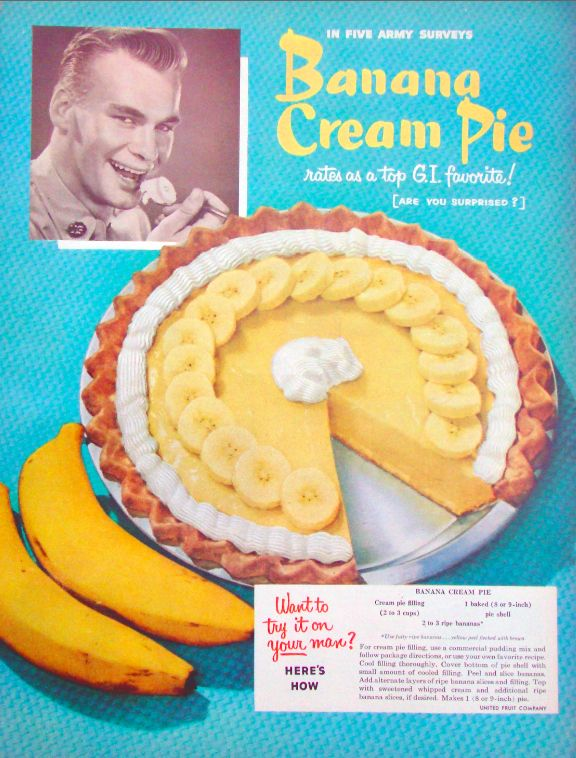 <b>From the glory days of pie in America.</b> Happy Pi(e) Day.