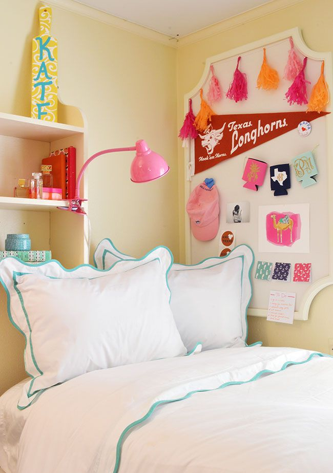 the cutest dorm room