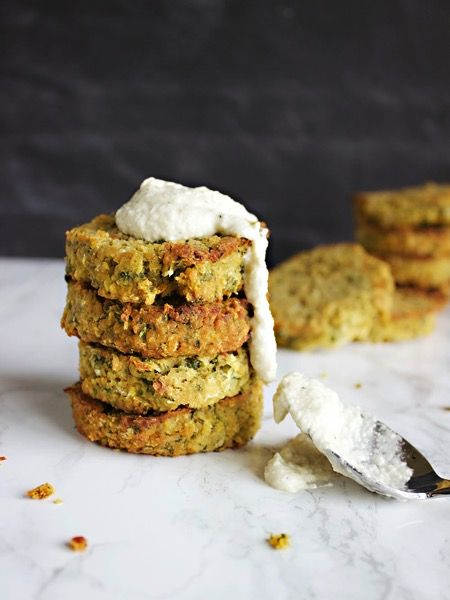 This recipe for grain free falafel burgers are not only healthy but packed with flavors of the Middle East that are great layered in a fresh & homemade pita