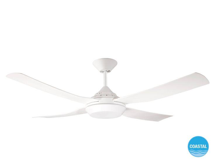 Moonah 122cm Fan only in White | Ceiling Fans | Fans