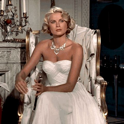 Supernatural Style | https://pinterest.com/SnatualStyle/  Grace Kelly /Alfred Hitchcock'sTo Catch a Thief(19