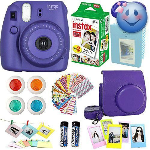 #bestdeal Abesons 9 In 1 camera accessories bundle set for the #FujiFilm #Instax Mini 8 and Mini 8+ Instant Camera. From Film to our blue bag to get the most use ...