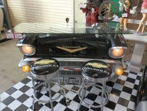 '57 Chev Bar for the Man Cave. Stools sold seperately