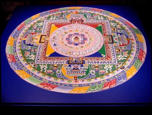 砂曼荼羅 Tibet