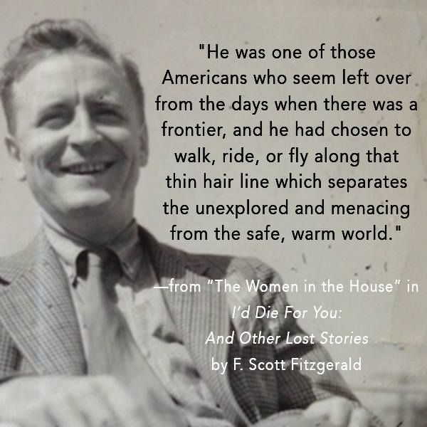Fitzgerald Quotes: 17 Best Ideas About F Scott Fitzgerald On Pinterest