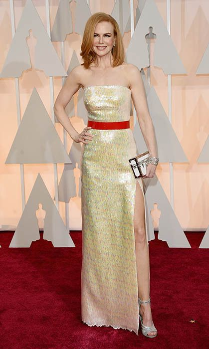 All the red carpet looks from the 2015 Oscars: Nicole Kidman. Photo: Getty