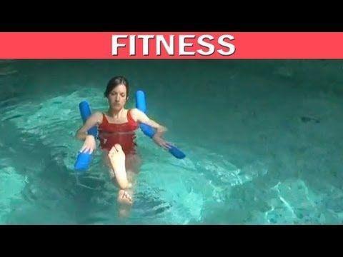 Aquagym vidéo : comment muscler ses abdominaux ? - YouTube