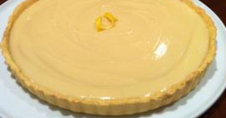 Nana McDonald's Lemon Tart