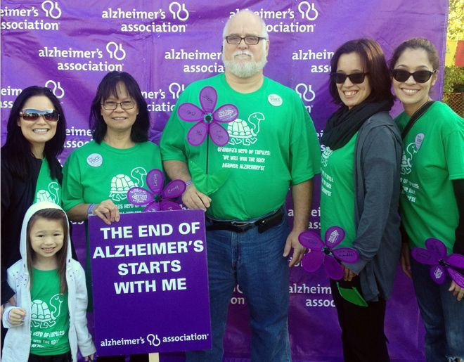 alzheimers walk team names photo