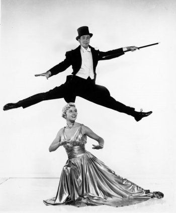 Doris Day and Gene Nelson for Lullaby of Broadway directed by David Butler, 1951