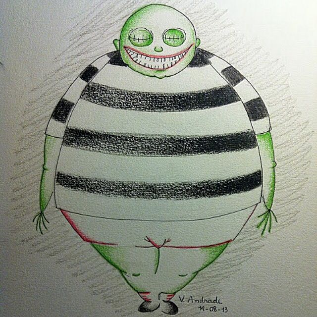 Dibujo_Corpse Boy_Tim Burton