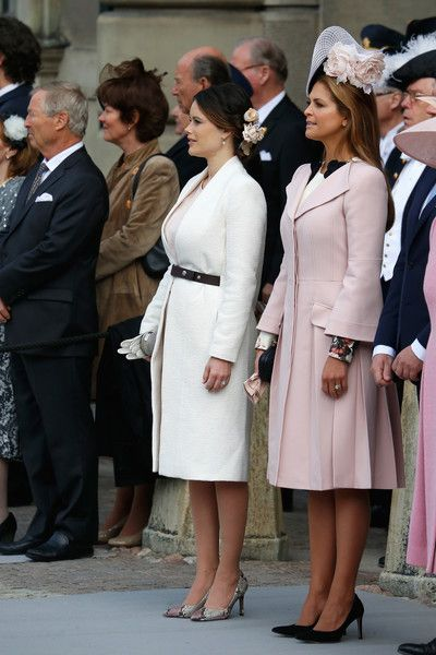 Princess Madeleine Photos - (L-R) Princess Sofia and Princess Madeleine of Sweden are seen at the celebrations of the Swedish Armed Forces for the 70th birthday of King Carl Gustaf of Sweden on April 30, 2016 in Stockholm, Sweden. - The Swedish Armed Forces Celebration - King Carl Gustaf of Sweden Celebrates His 70th Birthday
