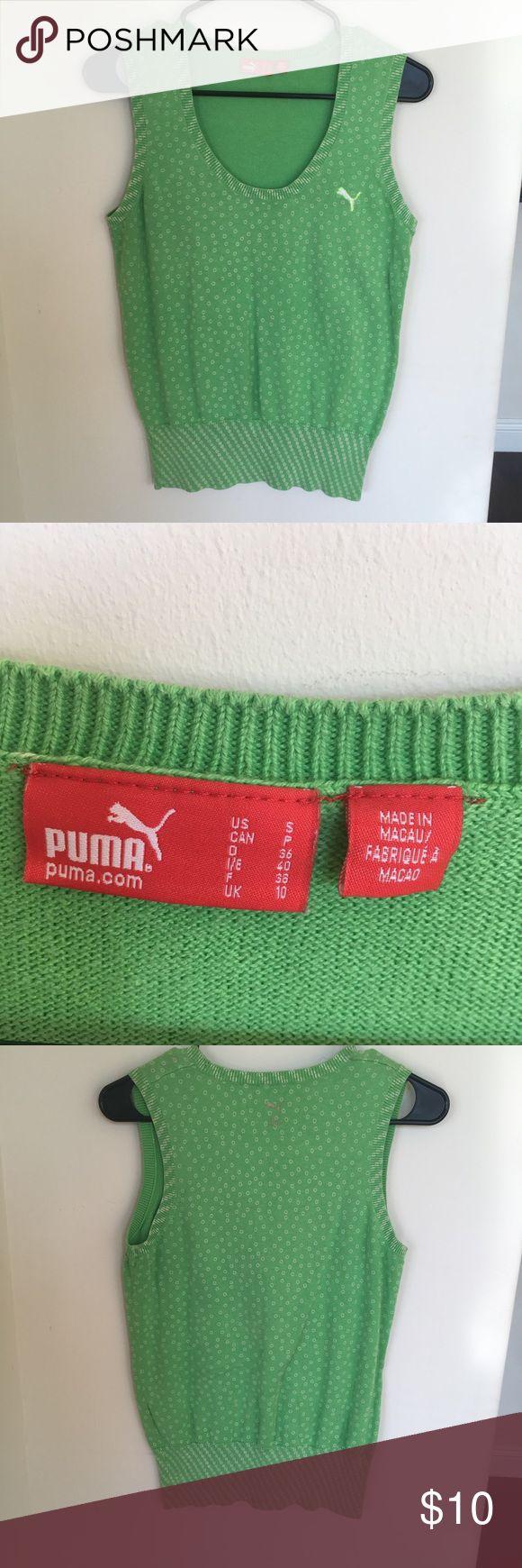 Puma golf sweater (s) Puma golf sweater (s) lightly worn.  Great condition Puma Sweaters