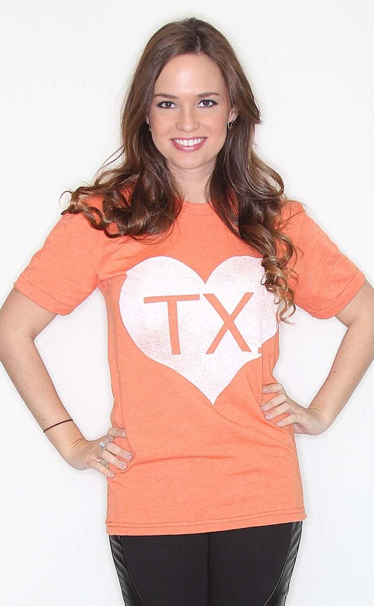 Riffraff | Shop HEART Texas - orange