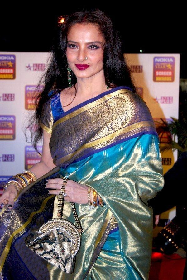 Rekhas sari fab or ..? | PINKVILLA