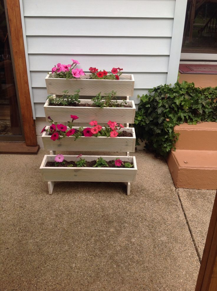 Planters That We Make At Wooden Wonders. Waveland, In.