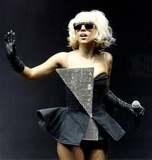 Lady Gaga fab costume now included in the Kaley Gaga Show www.kaleygaga-ladygagatribute.com