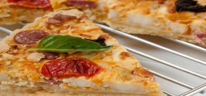 Pizza Lezzetinde Ev Yapımı Sebzeli Sosisli Kişi  ;)  #leziz #pizza #sebze #sosis #kişi  http://www.yemekhaberleri.com/sebzeli-sosisli-kis/