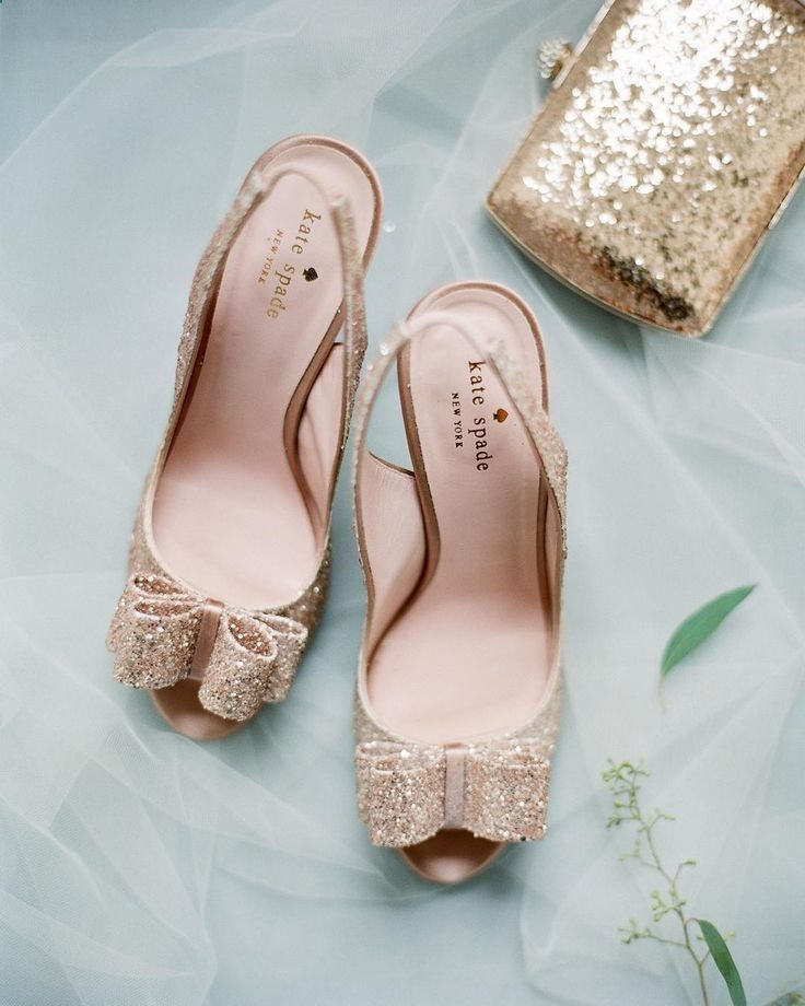 35 Gorgeous Pairs Of Rose Gold Wedding Shoes To Try Mrs To Be Gold Wedding Shoes Kate Spade Wedding Shoes Gold Bridal Shoes