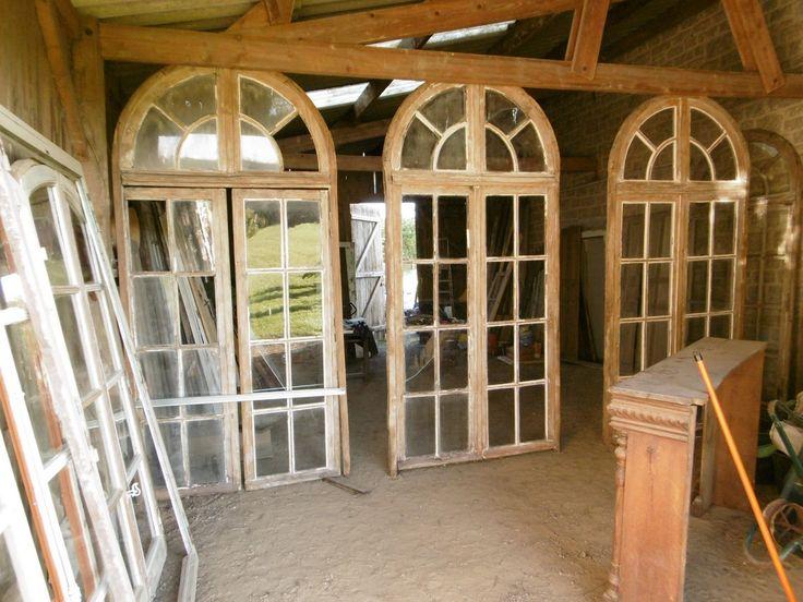 Porte Fenêtre Orangerie Boiserie, Portes Bonheur, Proantic