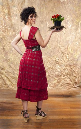 Elysian Fields Linen Dress and OBI