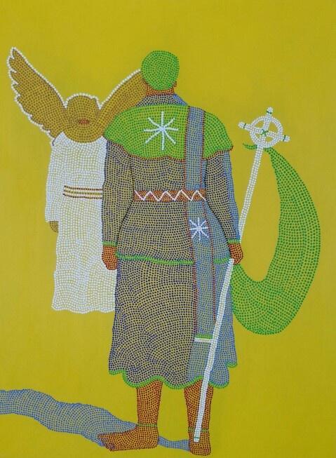 Sibusiso Duma - new works / acrylic on canvas