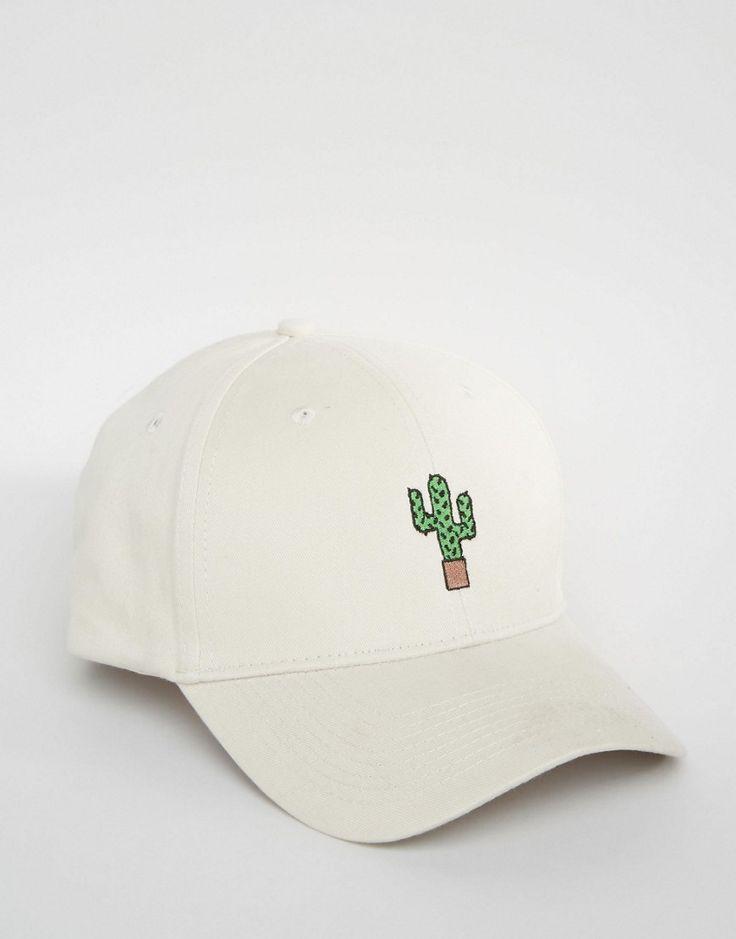 Image 2 ofAdolescent Clothing Cactus Embroidered Baseball Cap