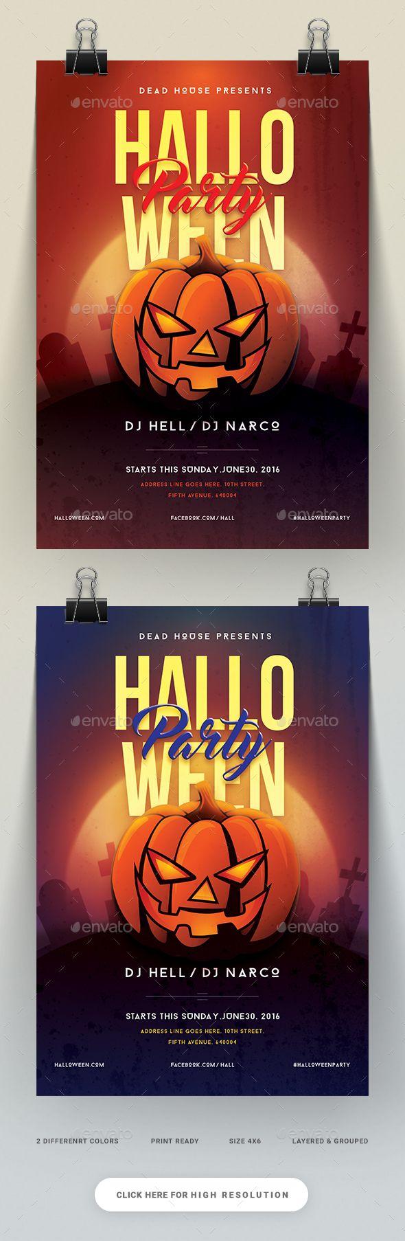 The 25+ best Halloween party flyer ideas on Pinterest | Flyers ...