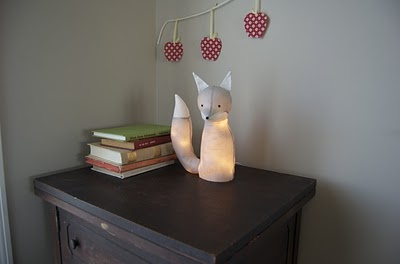 Mod Podge Fox: Stuffed Animals, Ideas, Diy Foxes, Diy'S, Lamps Tutorials, Foxes Lamps, Foxlamp, Night Lights, Electrifi Foxes