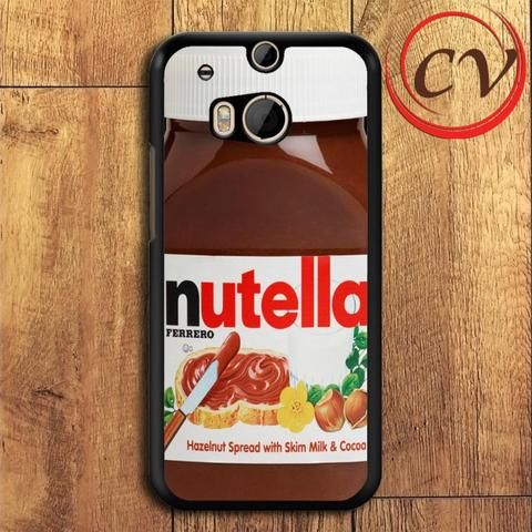 Nutella HTC One M8 Mini Black Case