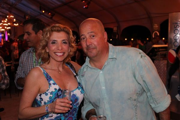 2012 South Beach Wine and Food Festival with Andrew Zimmern of Bizarre Foods. He was a nice guy.